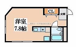 アルテハイム東大阪[2階]の間取り