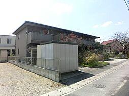愛知県長久手市岩作南島の賃貸アパートの外観