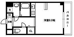 Doクレスト新大阪[6階]の間取り