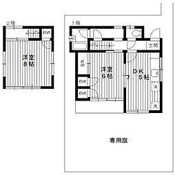 [一戸建] 東京都練馬区春日町5丁目 の賃貸【/】の間取り