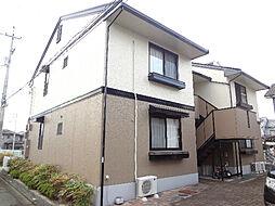 愛媛県松山市北土居2丁目の賃貸アパートの外観