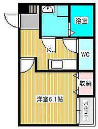 reo's馬橋03[1階]の間取り