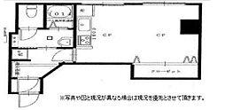 マンション三田[101号室]の間取り