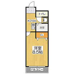 プレジール南大塚[2階]の間取り