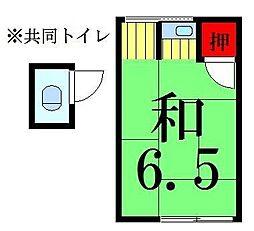 福田荘[4号室]の間取り