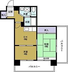 グレース大阪港[8階]の間取り