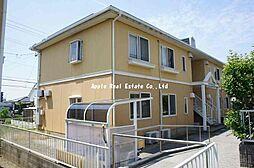 福岡県北九州市八幡西区浅川学園台2丁目の賃貸アパートの外観