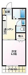 メゾンドOPAL II[2階]の間取り