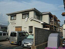 兵庫県尼崎市西昆陽1丁目の賃貸アパートの外観