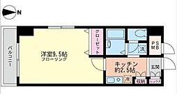 第2川崎スパマンション[604号室]の間取り