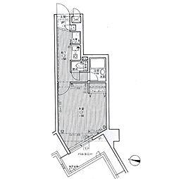 ライオンズマンションキャンパスシティ香椎[7階]の間取り