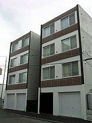 北海道札幌市中央区北十二条西15丁目の賃貸マンションの外観