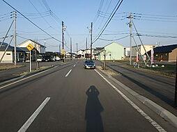 北側道路歩道 ...