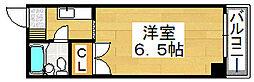 グルパ北庄[5階]の間取り