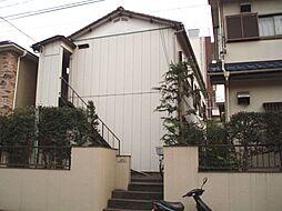 神奈川県横浜市鶴見区北寺尾2丁目の賃貸アパートの外観