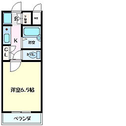 兵庫県神戸市西区王塚台1丁目の賃貸マンションの間取り