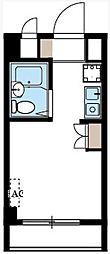 カレッジハイツ稲毛[1階]の間取り