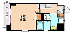 ベネフィス赤坂[7階]の間取り
