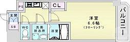 Osaka Metro長堀鶴見緑地線 京橋駅 徒歩2分の賃貸マンション 14階1Kの間取り