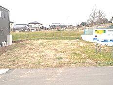 小美玉市小川E号地の現地写真です。