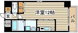 NISHITENMA-Y's village 6階1Kの間取り