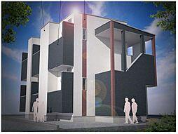 新築(仮称)大阪市平野区平野市町2丁目・SKHコーポ[201号室]の外観