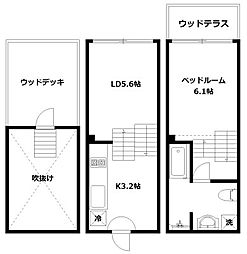hike〜Skip floor terrace house〜[G号室]の間取り