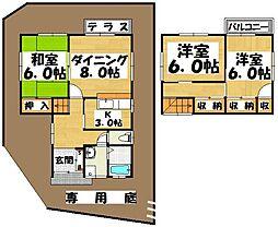 [一戸建] 福岡県太宰府市国分5丁目 の賃貸【/】の間取り