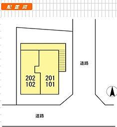 ベガ武蔵野[1階]の間取り