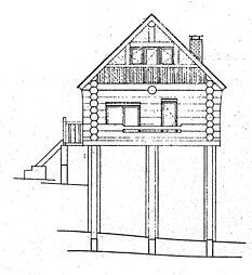 立面図(南側)