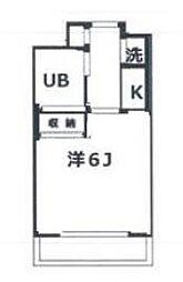 ピュアシティ横浜[3階]の間取り
