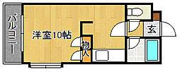ベルメゾン新宮[2階]の間取り