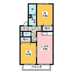 ラフィネANN[1階]の間取り