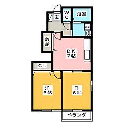 TAKARASOU[1階]の間取り