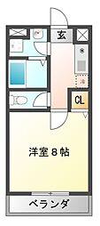 メゾン井沢パートIII[2階]の間取り
