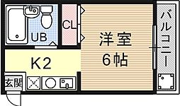 VIP大宅[301号室号室]の間取り
