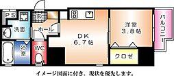 KATAYAMA BLDG  25[302号室]の間取り