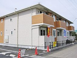 千葉県茂原市腰当の賃貸アパートの外観