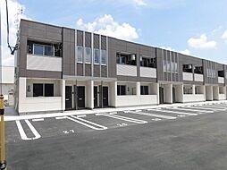 熊野新築アパート[1階]の外観
