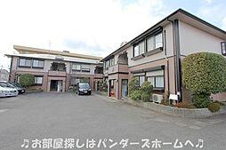 大阪府枚方市山之上東町の賃貸アパートの外観