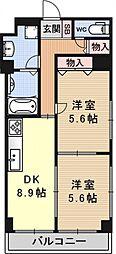 クッキィーIII[403号室号室]の間取り