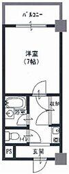 アネックス木の国 中新開2 吉田8分[5階]の間取り