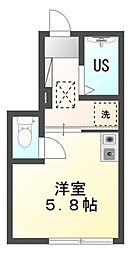 仮)バーミープレイス武蔵小金井III[1階]の間取り