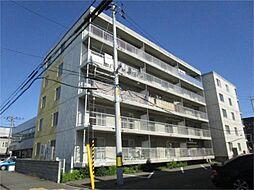 北海道札幌市東区北二十五条東12丁目の賃貸マンションの外観