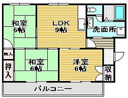 MXナカタニ[2階]の間取り