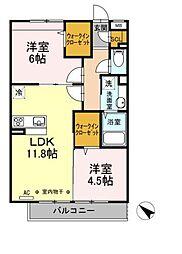 エクレール原宿(エクレールハラジュク)[3階]の間取り