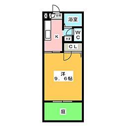 メゾンアリュール[1階]の間取り