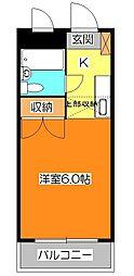 メゾン新井[1階]の間取り
