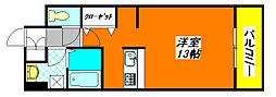 ベローナ 703号室[7階]の間取り