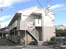 大阪府高槻市富田町3丁目の賃貸アパートの外観